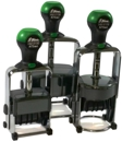 Heavy Metal Self-Inking Daters & Numberers