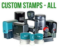 Custom Stamps - All Types