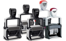 Trodat Professional Self-Inking Daters / Numberers