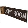 "WCOV210 - Corridor Wall Sign Value Engraved 2""x10"" (O.M.)"