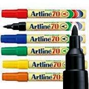 Artline EK-70 Permanent Marker - 1.5mm Bullet Tip