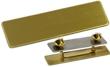 """NBUB1G - Uniform Badge Satin Gold 5/8""""x2-1/2"""" (O.M.)"""