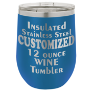 CAMEL12 - 12 Ounce Insulated Stainless Tumbler (O.M.)