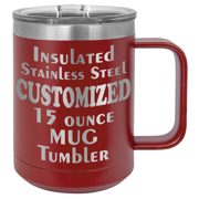 CAMEL15 - 15 Ounce Insulated Stainless Mug (O.M.)